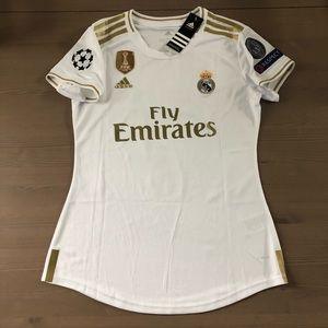 Women Real Madrid Hazard #7 soccer jersey